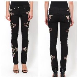 Isabel Marant Renell Navajo Black Jeans